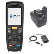 Zebra MC2180, 1D laser, USB, BT, Wi-Fi, num., kit (USB), Win CE6 Core