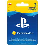 SONY PlayStation Plus Card Hang 90 dní (SK)