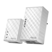 ASUS PL-N12 1x Powerline Wireless N300 Extender AV500 + 1x Powerline Adapter AV500