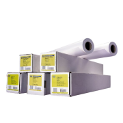 HP 2-pack Universal Adhesive Vinyl-914 mm x 20 m (36 in x 66 ft),  11.4 mil/290 g/m2 (with liner),