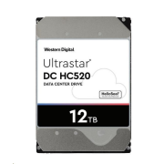 Western Digital Ultrastar® HDD 12TB (HUH721212AL5204) DC HC520 3.5in 26.1MM 256MB 7200RPM SAS 512E
