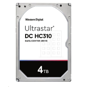 Western Digital Ultrastar® HDD 4TB (HUS726T4TALE6L4) DC HC310 3.5in 26.1MM 256MB 7200RPM SATA 512E