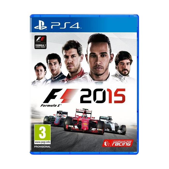 HR Playstation 4 - F1 2015