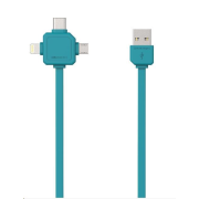 Allocacoc USBcable USB-C Blue