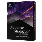 Pinnacle Studio 23 Ultimate ML EU, EN/CZ/DA/ES/FI/FR/IT/NL/PL/SV, Windows BOX