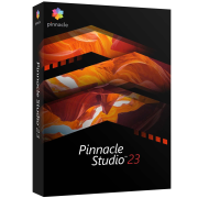 Pinnacle Studio 23 Standard ML EU, EN/CZ/DA/ES/FI/FR/IT/NL/PL/SV, BOX Windows
