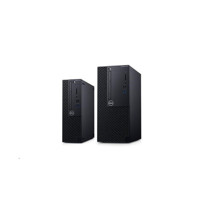DELL Optiplex 3070 MT/Core i3-9100/8GB/256GB SSD/Intel UHD 630/DVD RW/Kb/Mouse/260W/W10Pro/3Y Basic