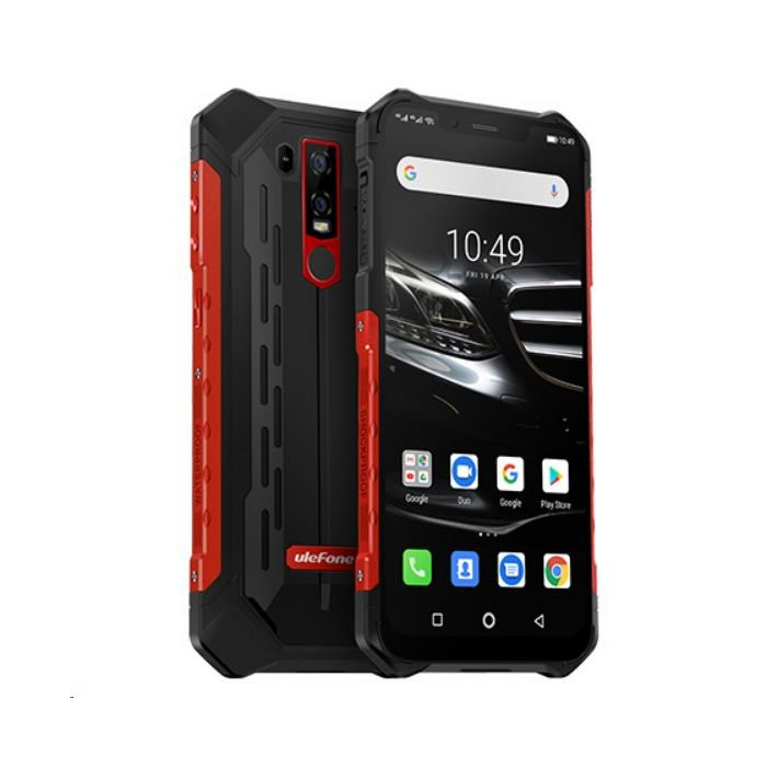 "UleFone smartphone Armor 6 E Red 6,2"" Android 9 4/64GB 5000mAh"