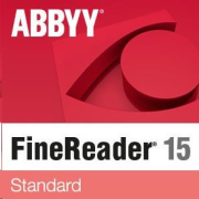 ABBYY FineReader 15 Standard, Single User License (ESD), UPG, Perpetual