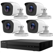 HIKVISION HiWatch HWK-T4142BH-MP, ANALOG KIT, 2MP, rekordér + 4 kamery, 4 ch, 1TB HDD