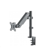 "Manhattan Mount, Single gas-spring arm, for one 17"" to 32"" monitor"