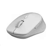 RAPOO myš M300 Silent Wireless Optical Mouse, Multi-mode: 2.4 GHz, Bluetooth 3.0 & 4.0, Grey