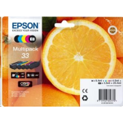 "EPSON ink Multipack ""Pomeranč"" 5-colours 33 Claria Premium Ink"