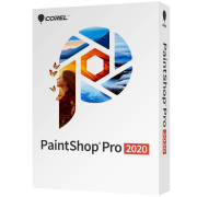 PaintShop Pro 2020 ML Mini Box EN/FR/NL/IT/ES