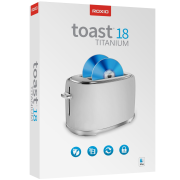 Roxio Toast Titanium 18 ML Mini Box, EN/DE/FR/ES/IT, Box
