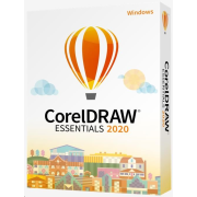 CorelDraw Essentials 2020 CZ/PL- BOX