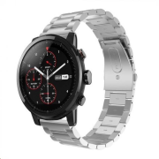Stainless Steel Strap pro Xiaomi Amazfit Pace / Amazfit 2 Stratos, Silver