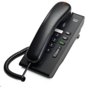 Cisco Unified CP-6901-C-K9=, VoIP telefon, single-line, 10/100, displej, PoE - nekompletní balení