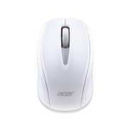 ACER  Wireless Mouse G69 White - RF2.4G, 1600 dpi, 95x58x35 mm, 10m dosah, 2x AAA, Win/Chrome/Mac,