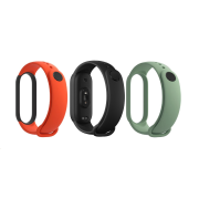 Mi Smart Band 5 Strap (Black,Orange,Cyan)
