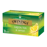 Čaj Twinings zelený & Lemon 50g