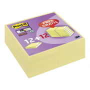 Bločky Post-it Super Sticky 76x76mm   12+12